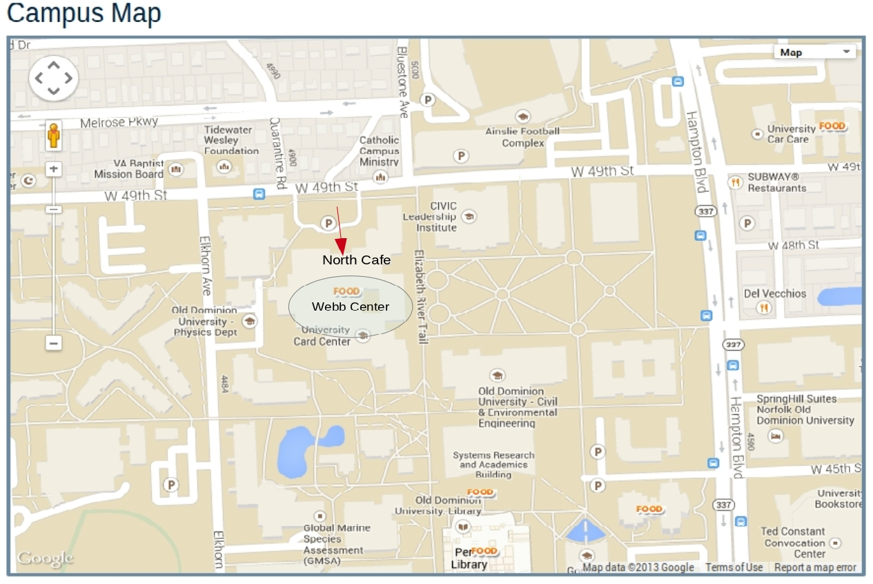 Odu Parking Map Double Map